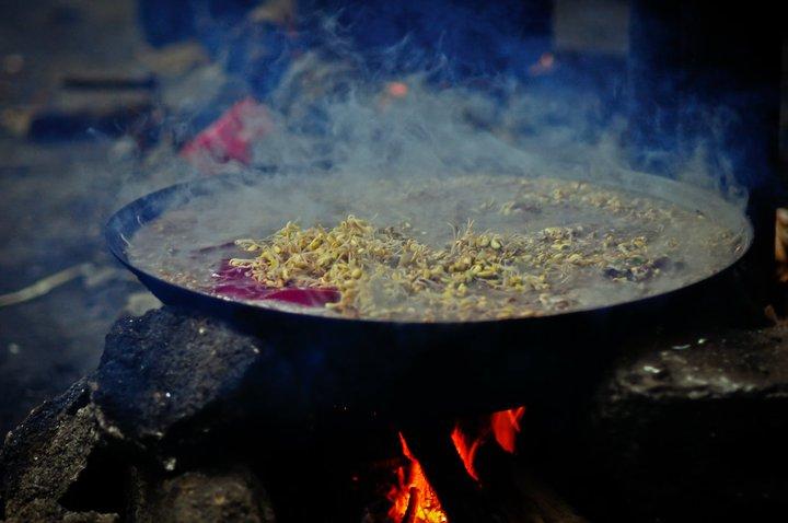 Thăng cố món ăn đặc sắc của người Mông